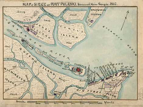 Siege of Fort Pulaski: A Turning Point in Military History ...